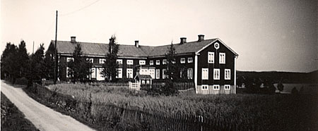 The farmhouse Mickels in Halsingland Sweden